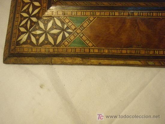 Antigüedades: MARCO GRANADINO DE PRINCIPIOS DEL XX - Foto 4 - 27191753