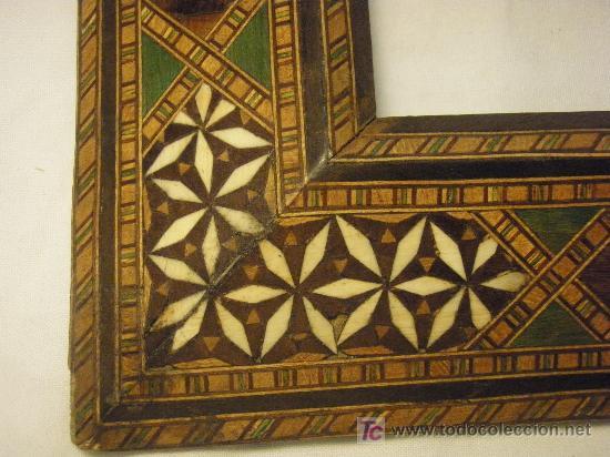 Antigüedades: MARCO GRANADINO DE PRINCIPIOS DEL XX - Foto 3 - 27191753