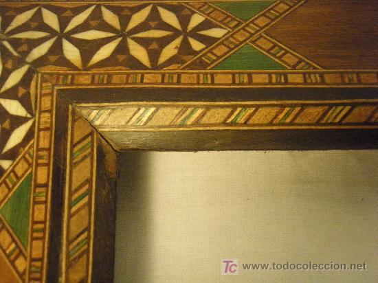 Antigüedades: MARCO GRANADINO DE PRINCIPIOS DEL XX - Foto 2 - 27191753