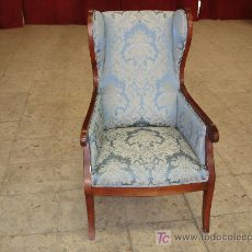 Antigüedades: SILLON DE CAOBA MACIZA. Lote 26869438