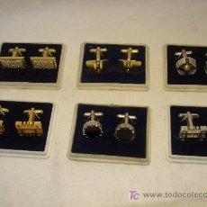 Antigüedades: LOTE 6 PARES DE GEMELOS DE LOS 60. Lote 27471598