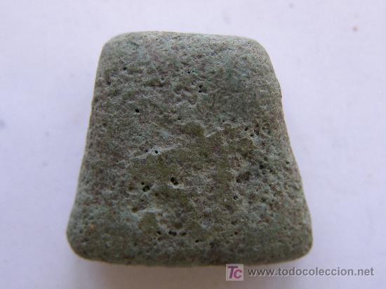 Antigüedades: ARQUEOLOGÍA RARO AMULETO.TRACIA. SIGLO IV AC.HACHA EN BRONCE - Foto 2 - 26929615