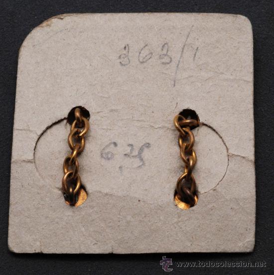 Antigüedades: Gemelos bisuteria años 50 - Foto 2 - 19838982