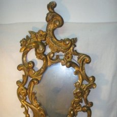 Antigüedades: CORNUCOPIA DORADA ESTILO ROCOCO. Lote 27530693