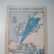 Antigüedades: VIATGES AUT-EXPRES: VIATGE NORD EUROPA - 1935. Lote 19841687