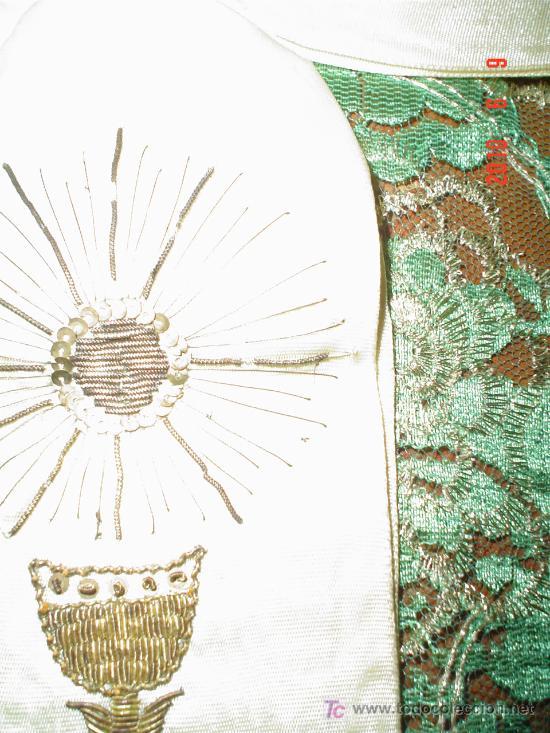Antigüedades: LAZO RECUERDO 1ª COMUNIÓN AÑOS 30 - Foto 4 - 26143776