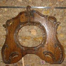 Antigüedades: ANTIGUO MARCO DE ROBLE S.XVIII. ESTILO Y ÈPOCA LUIS XV. Lote 25205534