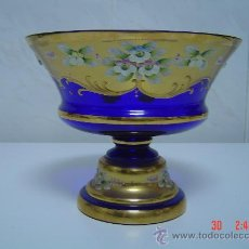 Antigüedades: FRUTERO DE CRISTAL VENECIANO. Lote 26602805