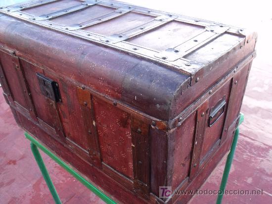Baul muy antiguo ideal para restaurar comprar ba les antiguos en todocoleccion 20610697 - Baules antiguos ...