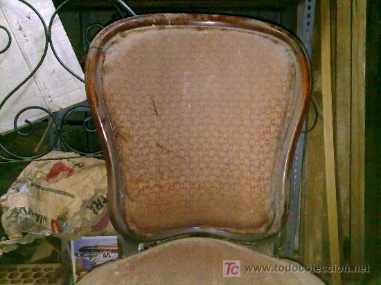 Antigüedades: Lote de 4 sillas isabelinas - Foto 5 - 27570763