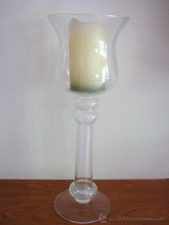 90e6868492b porta velas de cristal - Comprar Objetos Cristal y Vidrio Antiguo en ...