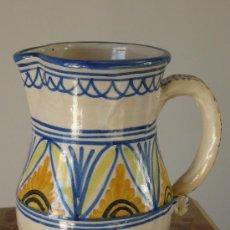 Antigüedades: JARRA PUENTE DEL ARZOBISPO FIRMADA A.C.R. PRECIOSA. Lote 27087245