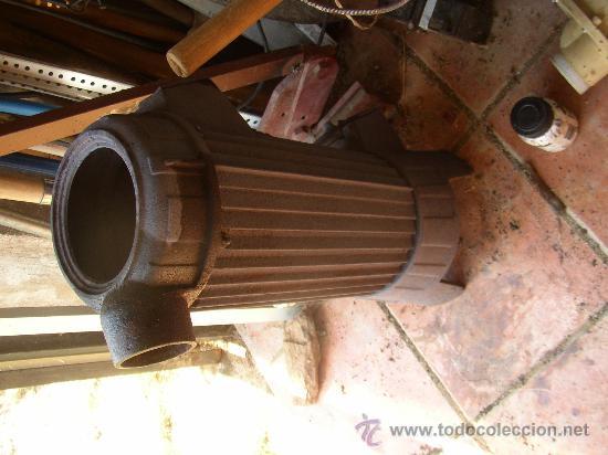 Antigua estufa de le a o carb n en hierro fundi comprar - Estufa antigua de lena ...