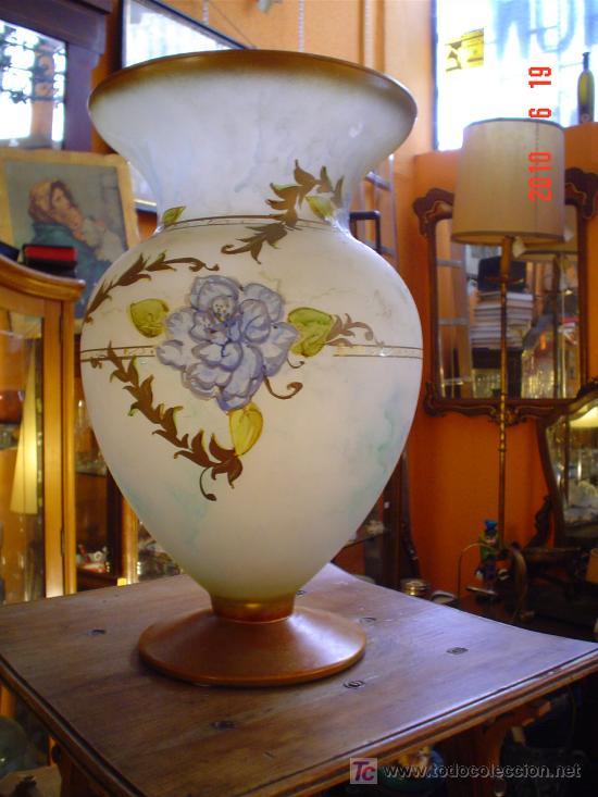 JARRON CRISTAL (Antigüedades - Cristal y Vidrio - Otros)