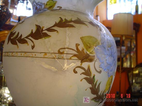 Antigüedades: JARRON CRISTAL - Foto 3 - 26511417
