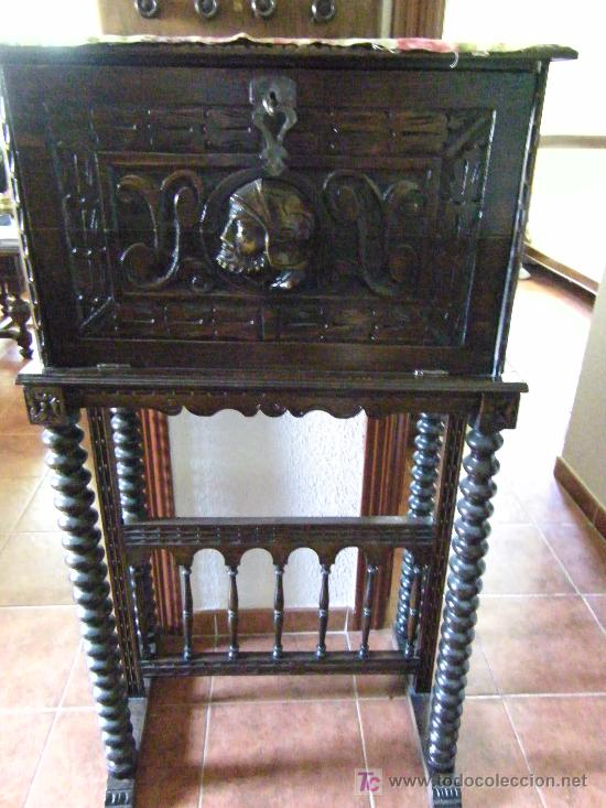 BURO ANTIGUO (Antigüedades   Muebles Antiguos   Mesas De Despacho Antiguos)