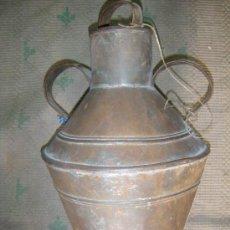 Antigüedades: ETNOGRAFÍA. CANTARO DE CHAPA. Lote 20110896