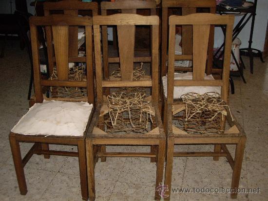 Sillas de casta o comprar sillas antiguas en - Como tapizar sillas antiguas ...