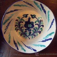 Antigüedades: LEBRILLO DE FAJALAUZA GRANADA.. Lote 244916445