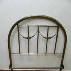 Antigüedades: CAMA DE 90 CM.COMPLETA. Lote 20242681