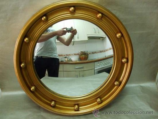 Espejo convexo comprar espejos antiguos en todocoleccion for Espejo concavo precio