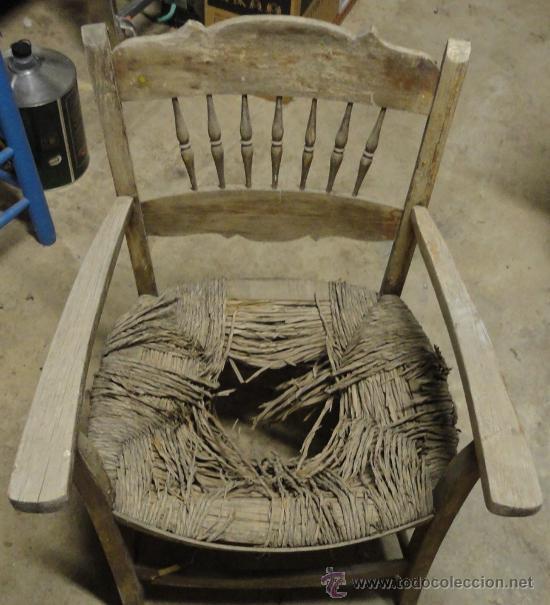 Silla antigua a restaurar comprar sillas antiguas en - Restaurar sillas antiguas ...