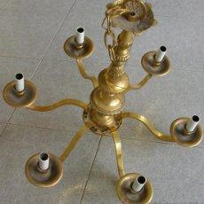 Antigüedades: LAMPARA DE SEIS BRAZOS. AÑOS 60. Lote 27590327