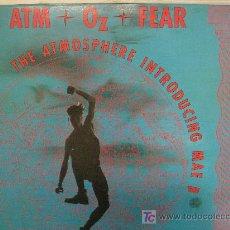 Discos de vinilo: MAXI SINGLE-45 RPM-THE ATMOSPHERE INTRODUCING MAE B-ATM OZ FEAR-NUEVO, MUY RARO Y EN . Lote 27179752