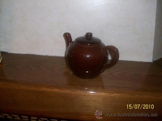 Antigüedades: antigua tetera ,lechera,cafetera - Foto 3 - 25838811