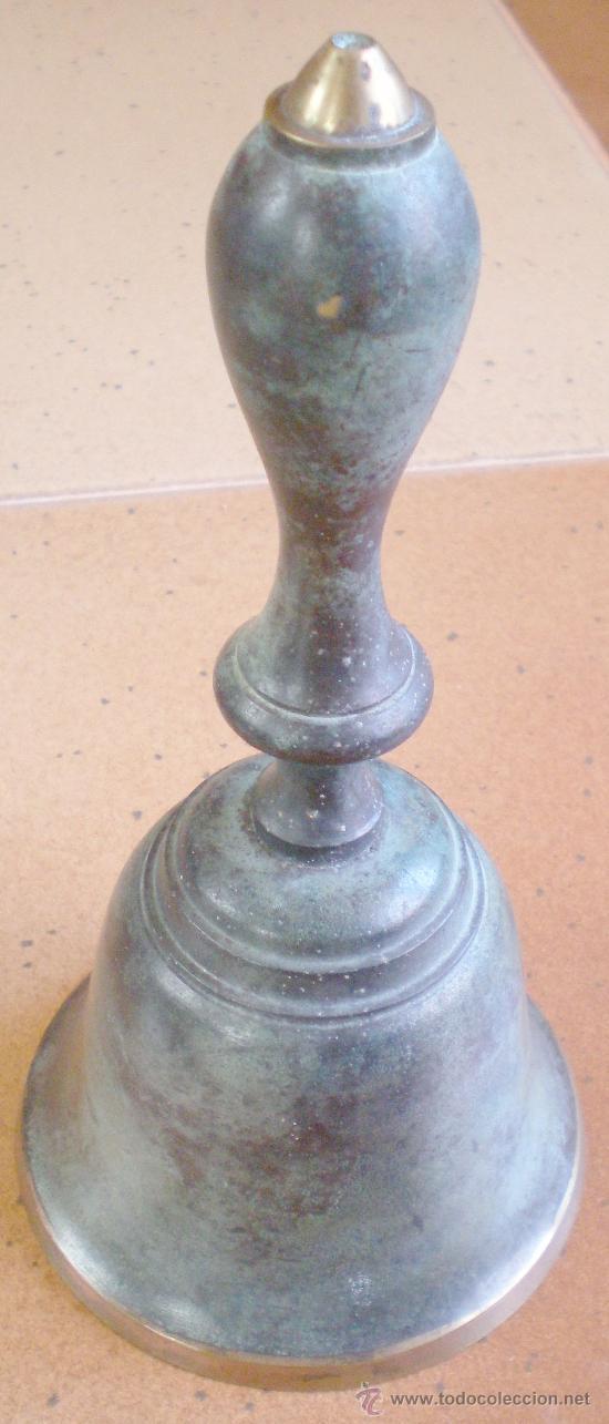 CAMPANA CAMPANILLA BRONCE (Antigüedades - Hogar y Decoración - Campanas Antiguas)