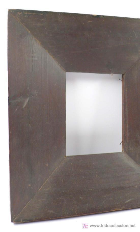 marco curvado del vs.xix. de madera vista. exte - Comprar ...