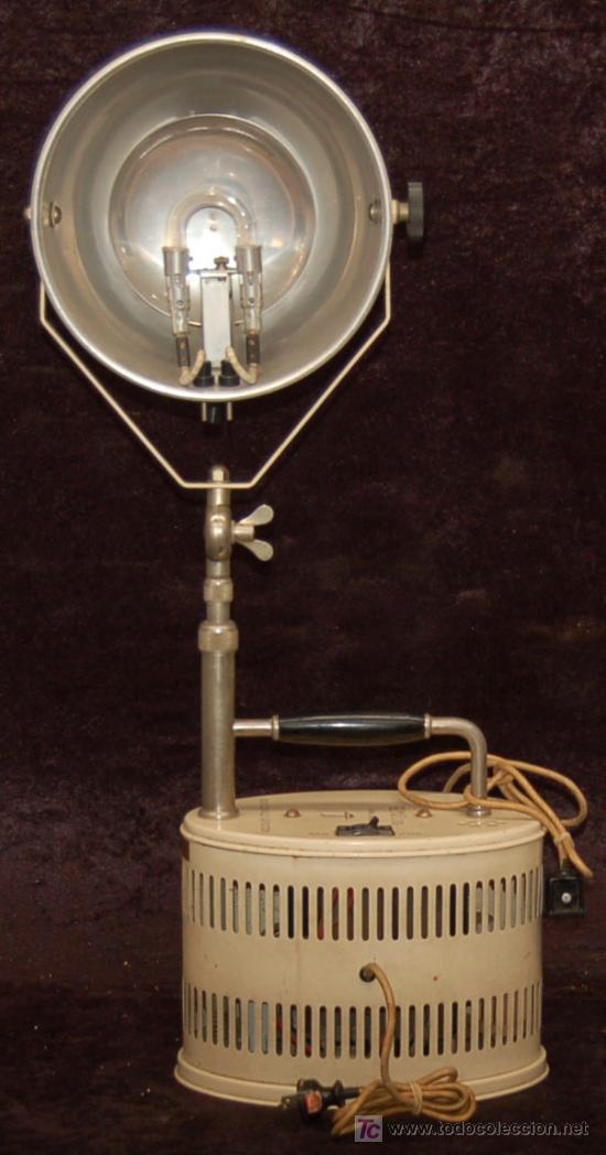 Antiguo Aparato Electrico Muy Raro Lampara Ray Comprar Lamparas