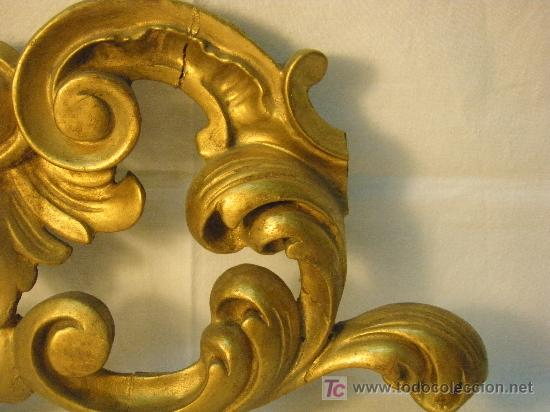 Antigüedades: COPETE DORADO DEL XVIII - Foto 7 - 26930607
