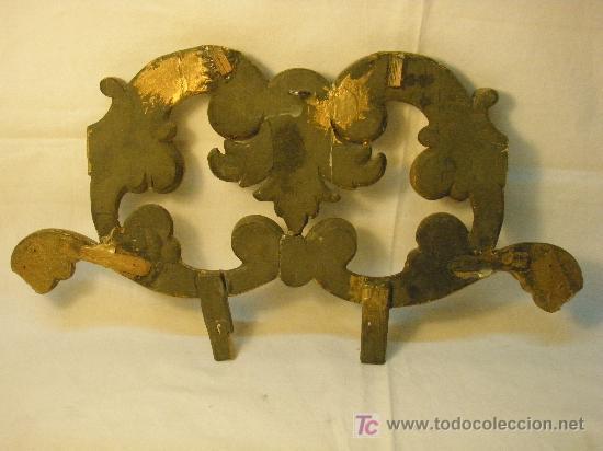 Antigüedades: COPETE DORADO DEL XVIII - Foto 5 - 26930607