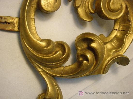 Antigüedades: COPETE DORADO DEL XVIII - Foto 4 - 26930607