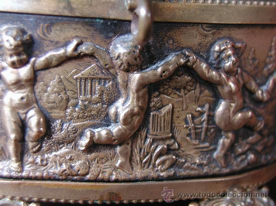 Antigüedades: ANTIGUA CAJA JOYERO COFRE FRANCESA DE EPOCA NAPOLEON III FINALES DEL S.XIX. - Foto 3 - 26121068