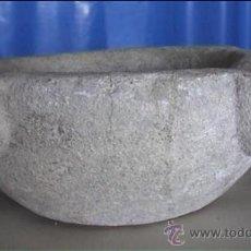 Antigüedades: MORTERO PIEDRA SXVIII 18X9 AL CM. Lote 20701127