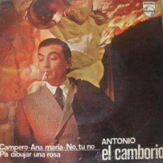 Discos de vinilo: ANTONIO EL CAMBORIO - EP, 1967. Lote 32164331
