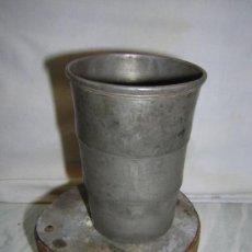 Antigüedades: ANTIGUO VASO PLEGABLE DE METAL -BRITANNIA METAL-EK - ESPECIAL COLECCIONISMO SCOUTS. Lote 27526725