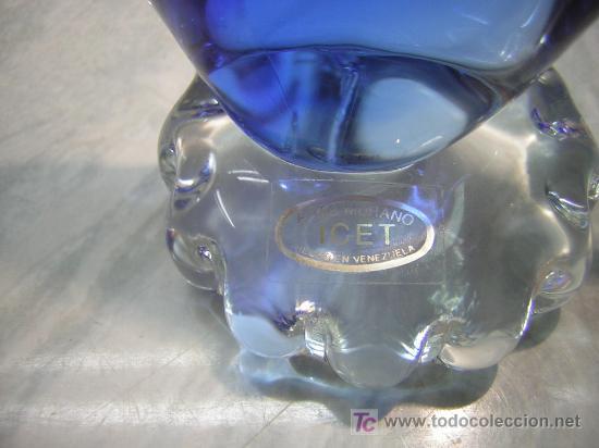 Antigüedades: pez cristal arte murano - Foto 3 - 27459315