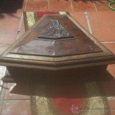 Antigüedades: BONITA CAJA DE MADERA (CREO QUE ES PARA PIPAS DE FUMAR). Lote 26584719