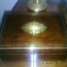 Antigüedades: CAJA FRANCESA. Lote 27395719