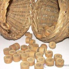Antigüedades: MUY ANTIGUO JUEGO DE LOTERIA.. Lote 26517644