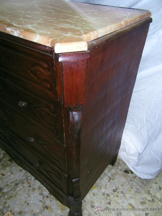Antigüedades: COMODA CATALANA NOGAL - Foto 3 - 21011827