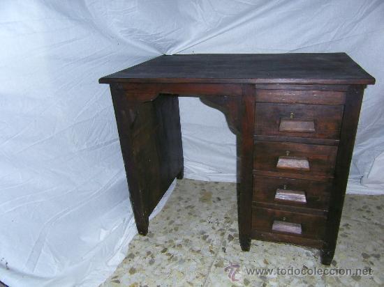 mesa secretaria oficina - Comprar Mesas Antiguas en todocoleccion ...