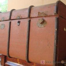 Antigüedades: BAUL DE VIAJE . Lote 26612164
