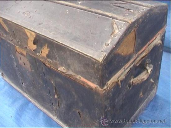 Antigüedades: BAUL AJUAR MONJAS SANTA MARIA DE CASBAS SXIX - Foto 3 - 21169638