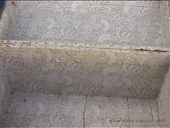 Antigüedades: BAUL AJUAR MONJAS SANTA MARIA DE CASBAS SXIX - Foto 7 - 21169638