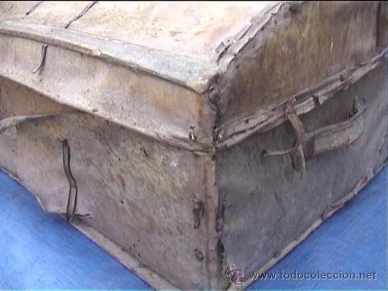 Antigüedades: BAUL AJUAR MONJAS MONASTERIO SANTA MARIA DE CASBAS SXIX HUESCA - Foto 2 - 21170337