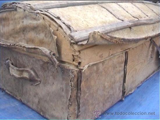 Antigüedades: BAUL AJUAR MONJAS MONASTERIO SANTA MARIA DE CASBAS SXIX HUESCA - Foto 3 - 21170337